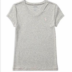 New Girls POLO v-neck t-shirt
